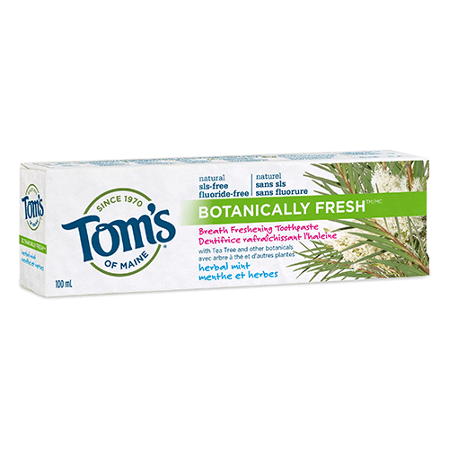 Botanically Fresh™ SLS-free Natural Toothpaste