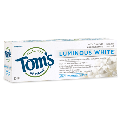 Luminous White® Natural Toothpaste
