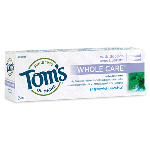 Whole Care® Natural Fluoride Toothpaste