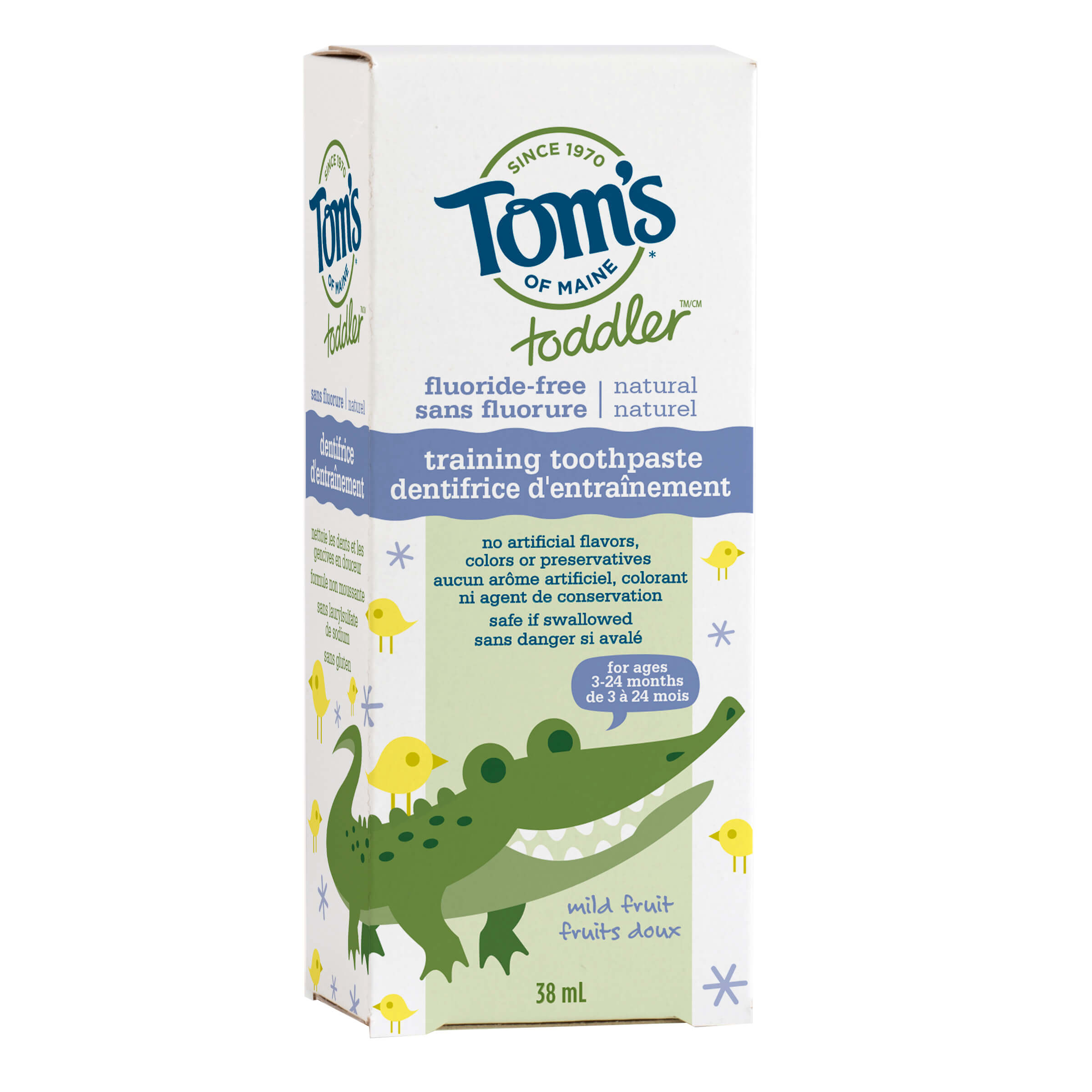 Toddler Fluoride Free Training Toothpaste