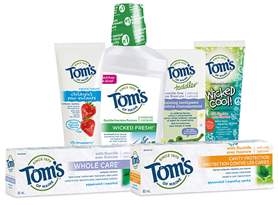 toms of maine oral care